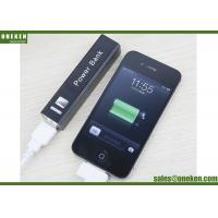 Metal Shell 18650 Lithium Battery Power Bank / 2600mAh Outdoor Smartphone Power Bank