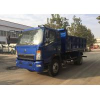 Construction Heavy Duty Dump Truck 4×2 Tipper For Transporting Loose Material