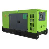Water Cooled Home Use 25KVA Silent Generator Set With Compact Design Single Phase or Three Phase