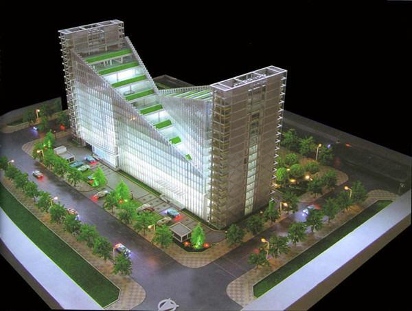 Highly Massing Architectural Model Supplies For Commercial Building Archite