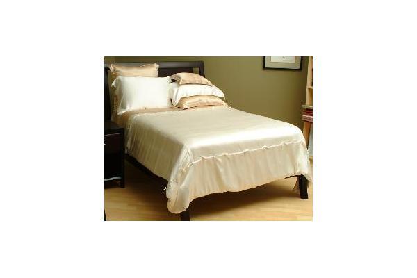products 100% silk bedding set classic silk sheet set (sd001)