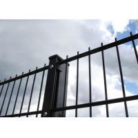 Metal 868 Black Coated Welded Wire FenceOrnamental Double Loop 2D Powder Coated