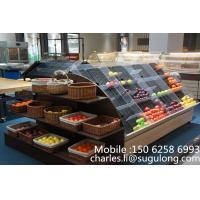 Custom Mini Fruit Vegetable Display Rack , Fruit & Veg Display Stands