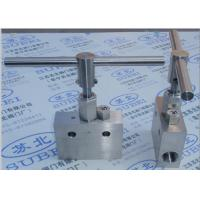 Chemical distribution Grooved Piping Systems / Female thread gate  stop valve