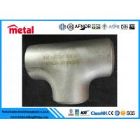 Industrial Alloy Steel Pipe Fittings BW Equal Tee ASTM B366 Alloy B UNS N10001