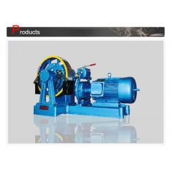 China Elevator Parts Source , Elevator Traction Motor For Room Less Lift SN-TMYJ180 on sale