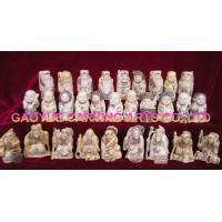 OX  Bone Netsuke Bone Statues figurines