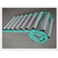 Coated Industrial Rubber Rollers , Small Diameter Pvc Conveyor Rollers OEM