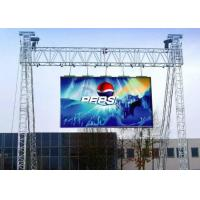 Customized P6 Outdoor Led Screen Rental 96*96 Cabinet Resolution