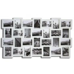 large multi aperture photo picture frame holds 6 x4 photos home decor