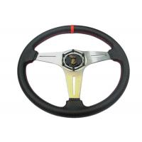 Security Race Car Steering Wheel With Environmental Protection Material