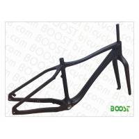 boostbicye carbon fatbike snowbicycle frames Thru AXEL Disc brake Fat bike(26')Max 4.7'tyre FM011