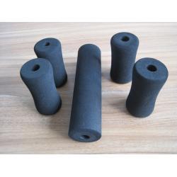 China High Elasticity Protector Anti Slip High Density Foam Tube Black on sale