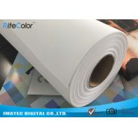 Wide Format Digital Inkjet Printing Cotton Canvas Roll 320gsm