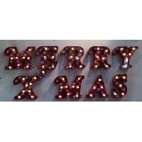 XMAS / Wedding Party LED Light Up Letters , Vintage Lighted Marquee Letters