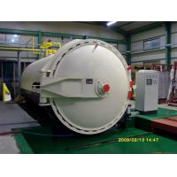 Fully Automatic Autoclave Pressure For Laminated Glass With PLC Controller