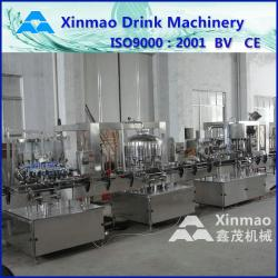 China High Speed Glass Bottle Filling Machine For Alcohol / Beer / Grape Wine on sale