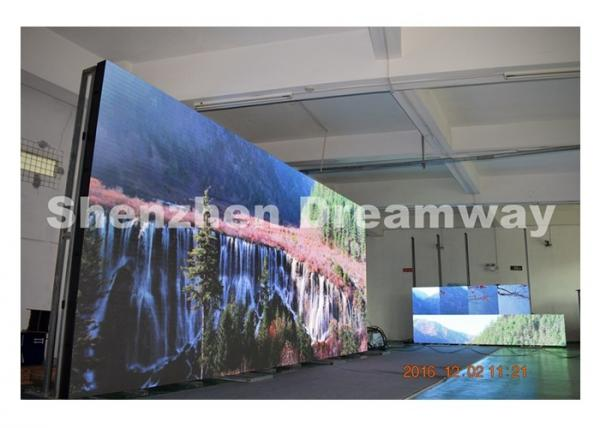 China SMD2727 PH6 Outdoor Advertising LED Display with 7,000 CD/m2 IP65 Watereproof supplier