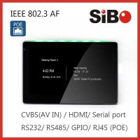 SIBO wall mount, in wall mount, table mount Android tablet , capacitive touch screen with wifi, Ethernet, bluetooth
