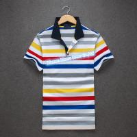 Newest Striped Polo Shirt for men ,Men's 100% Cotton casual Polo shirt