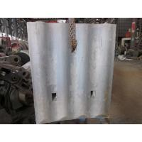 High Cr White Iron Mill Liners D-12-D Coal Mill Hardness HRC58 - HRC61 After Shot Blasting