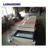 Cheap price PVC film vacuum hot membrane press machine for Wood cabinet door making