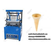 Automatic Ice Cream Cone Baking Machine, Cake Cone Maker Stainless Steel