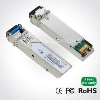 1.25Gb/s 40Km LC BiDi SFP Transceiver With 1310nm Tx / 1550nm Rx