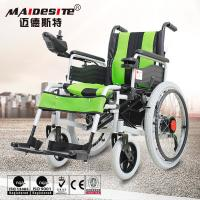 Lightweight mobility electric foldable wheelchair for patients
