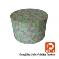 Beautiful Round Small Coloured Cardboard Boxes With Lids Environmentally Friendly