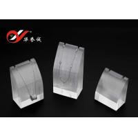 Acrylic Jewelry Display Tray Set Of Three For Chain And Earring Display