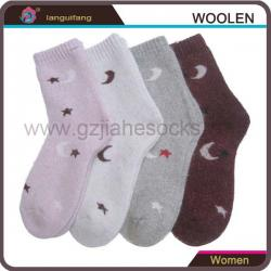 China women's wool socks winter terry ladies socks on sale