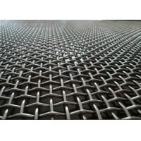 Factory Flat Top Crimped Woven Wire Mesh Multi Color With Beautiful Structure