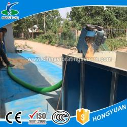China Vehicle mounted Electric spiral conveyor grain suction machine on sale