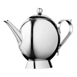 China Borosilicate glass tea pot with strainer on sale