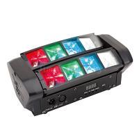 DMX Suond Activated 8X3w rgbw Mini Spider Beam LED Moving Head DJ Lights