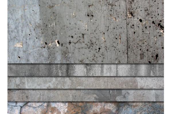 Как железнить бетон видео