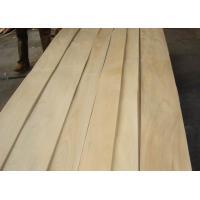 Sliced Cut Natural Chinese Maple Wood Veneer Sheet