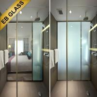 China SMART pdlc GLASS, magic glass, intelligent glass, eb glass