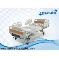 Folding Medical Hospital Ward Bed , Adjustable Elderly / Disabled Bed