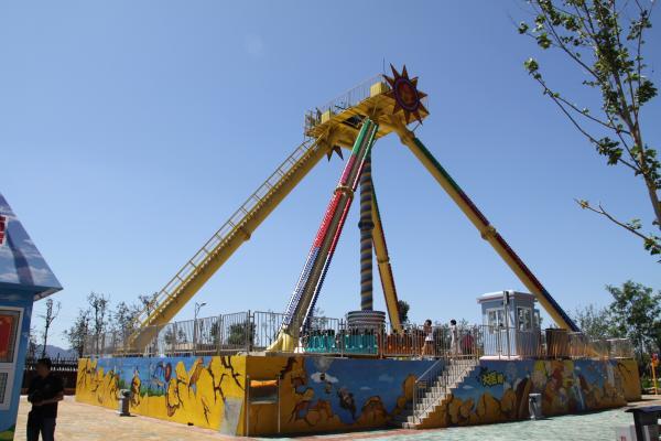 amazing safety amusement parks rides sky flyer giant frisbee 30 persons amusementparkequipments. Black Bedroom Furniture Sets. Home Design Ideas