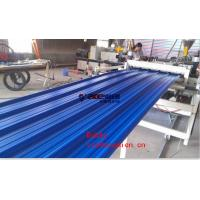 Plastic Multi Layer Roofing Tile Making Machine Roll Forming Line 55kw / 110kw