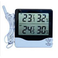 Digital Thermometer Hygrometer Humidity&Big Industrial LCD Digital Indoor Outdoor Temperature & Humidity Meter