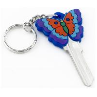 Fashion Custom House Key Blanks 3D Butterfly Shaped In KW10 And SC1 Profiles