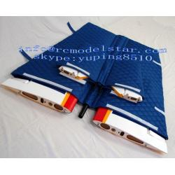 China Balsa-Wood Model RC Plane Accessories , Plastics / Nylon Cloth RC Wing Bags on sale