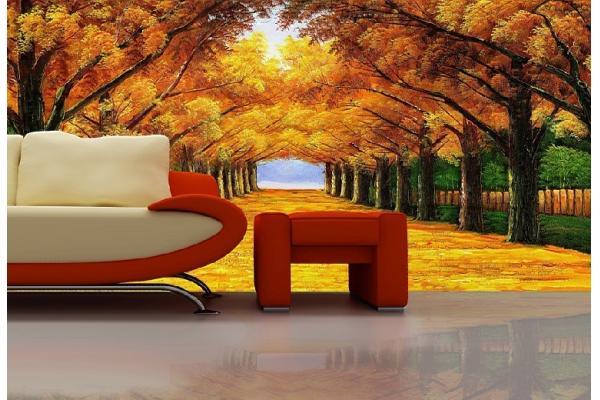 Paisaje serie sal n personalizado dise o decoraci n Papeles murales con diseno de paisajes