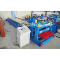 Partical Arc Roofing Rolling Glazed Tile Forming Machine For Corrugation Profile