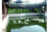 Mei Lanfang travels in the park  Taizhou of China