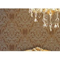 China Embossed 1.06m Korean Wallpaper , Soundproof Living Room Modern Wallpaper on sale