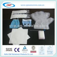 CE&ISO Approved Surgical Dental Drape Pack with EO Sterile